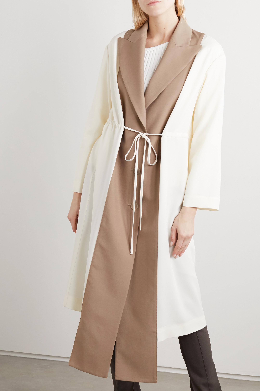 Loewe Manteau en laine bicolore