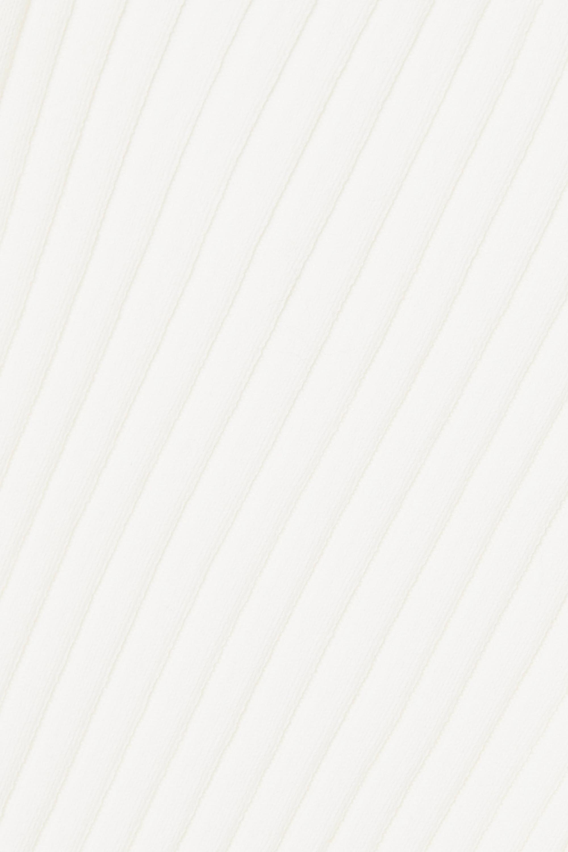 Loewe Asymmetrischer Rippstrickpullover