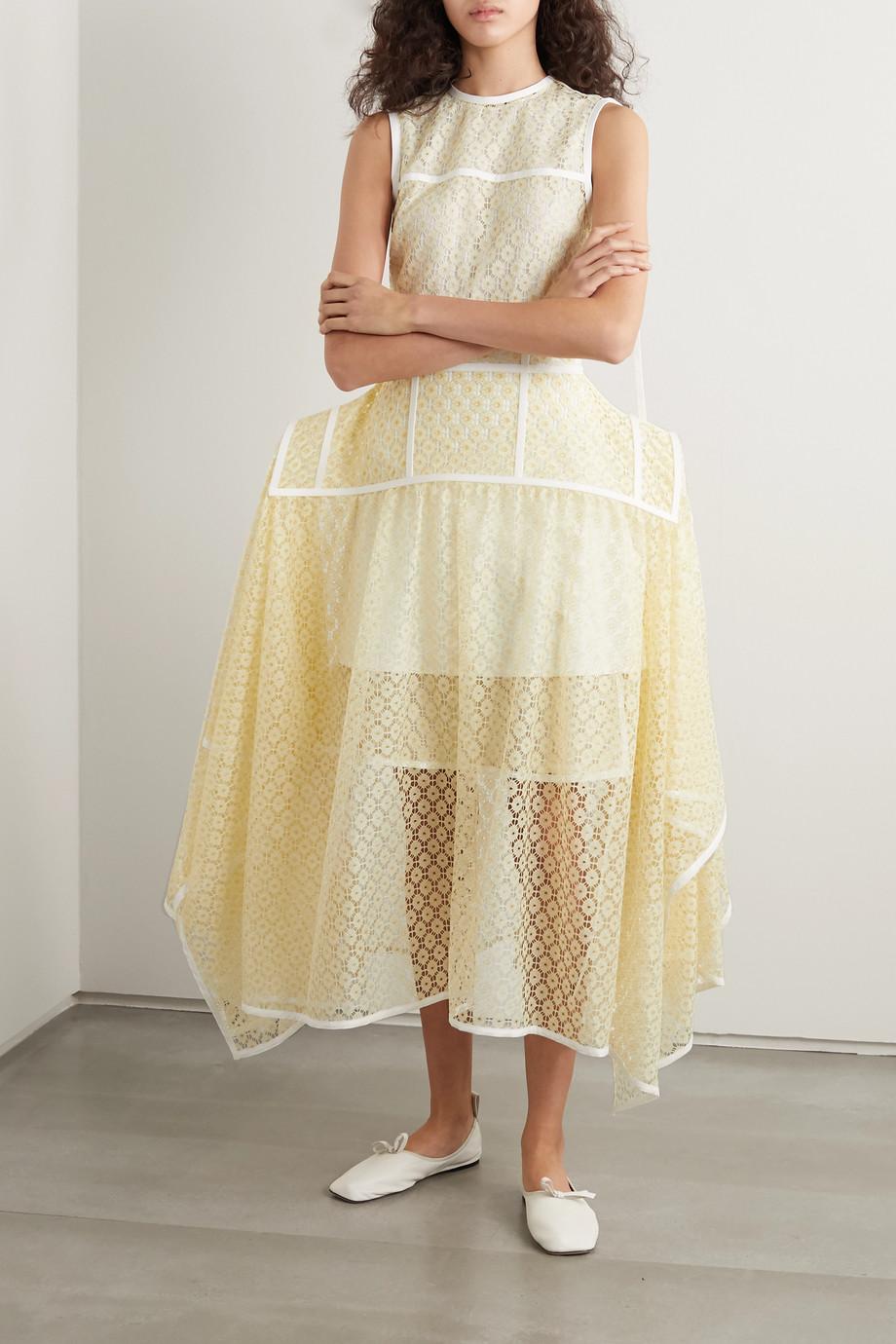 Loewe Lace midi skirt