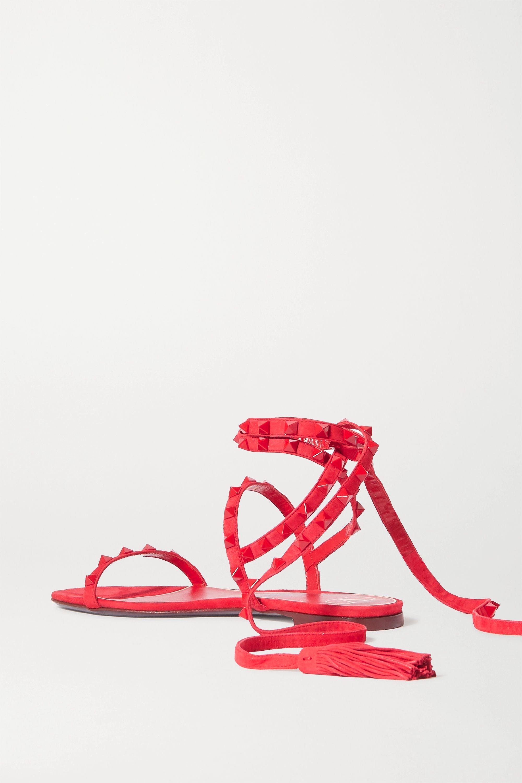 Valentino Valentino Garavani Rockstud suede sandals