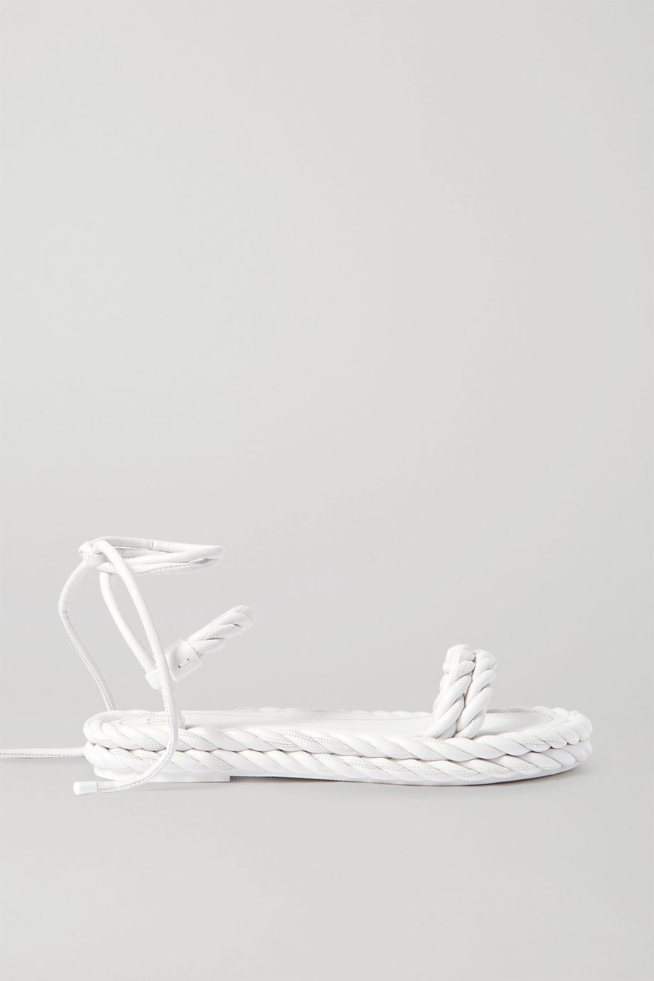 Valentino Valentino Garavani braided leather sandals