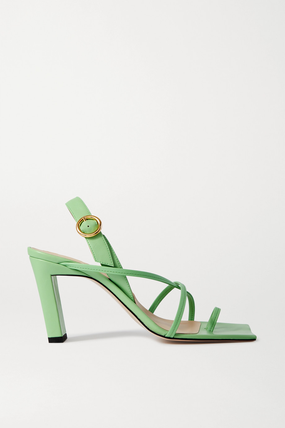 Wandler Elza leather slingback sandals