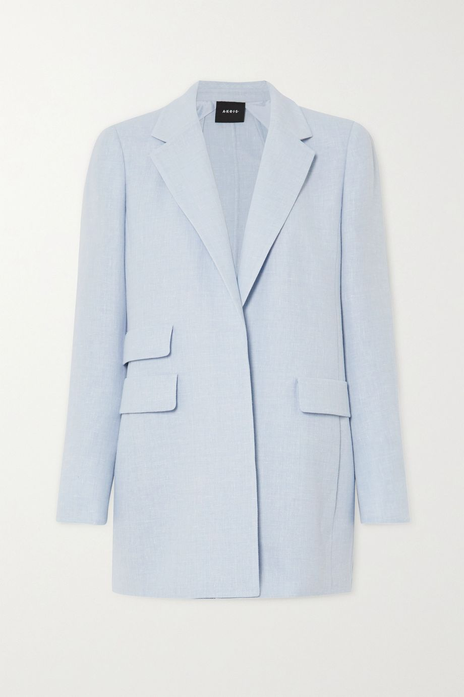 Akris Gereon linen and wool-blend blazer