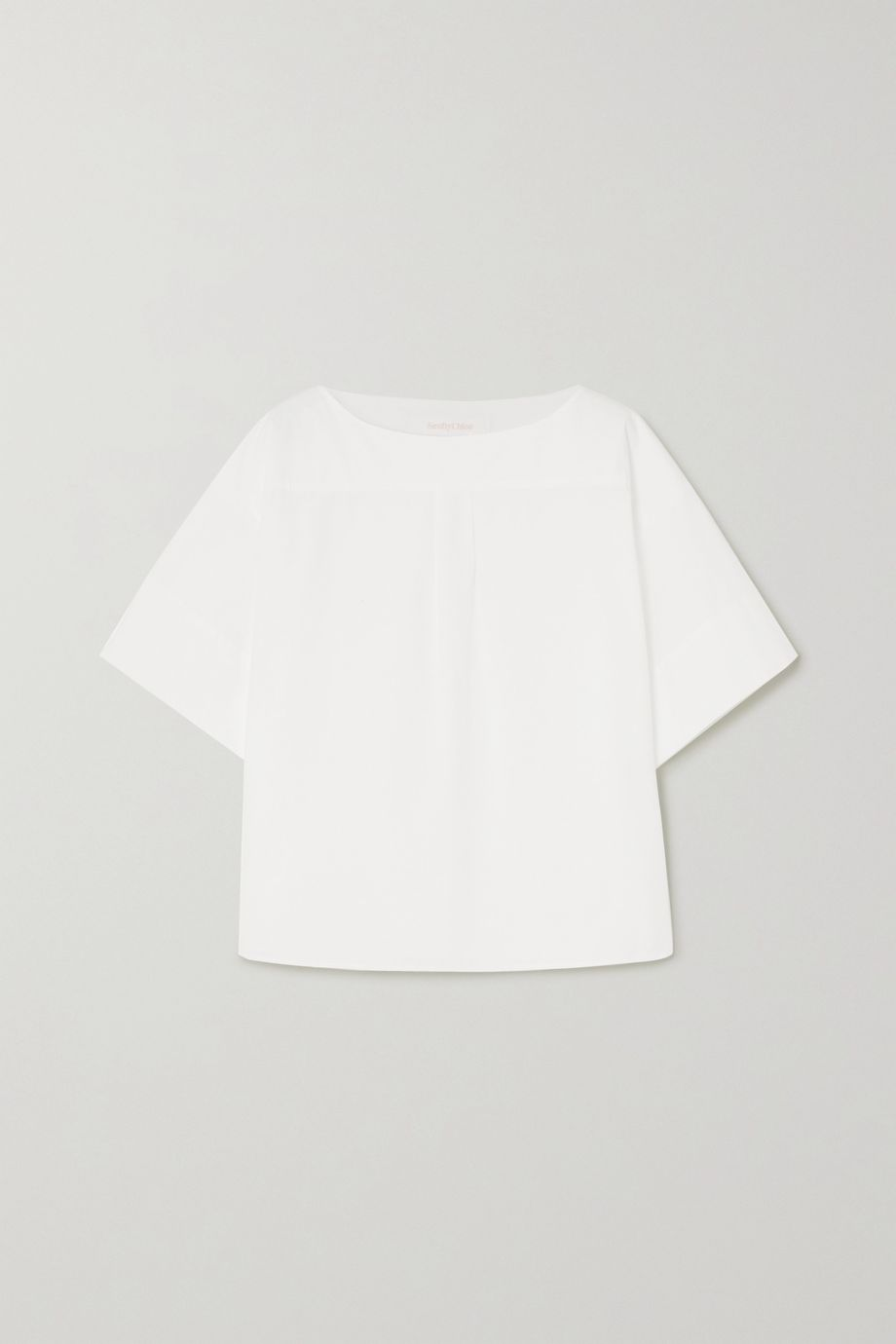 See By Chloé Cotton-poplin top