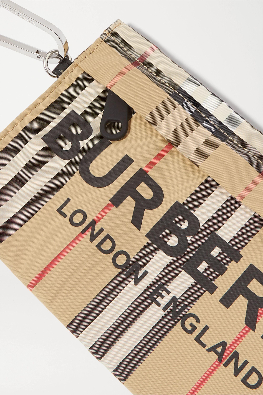 Burberry Printed gabardine pouch