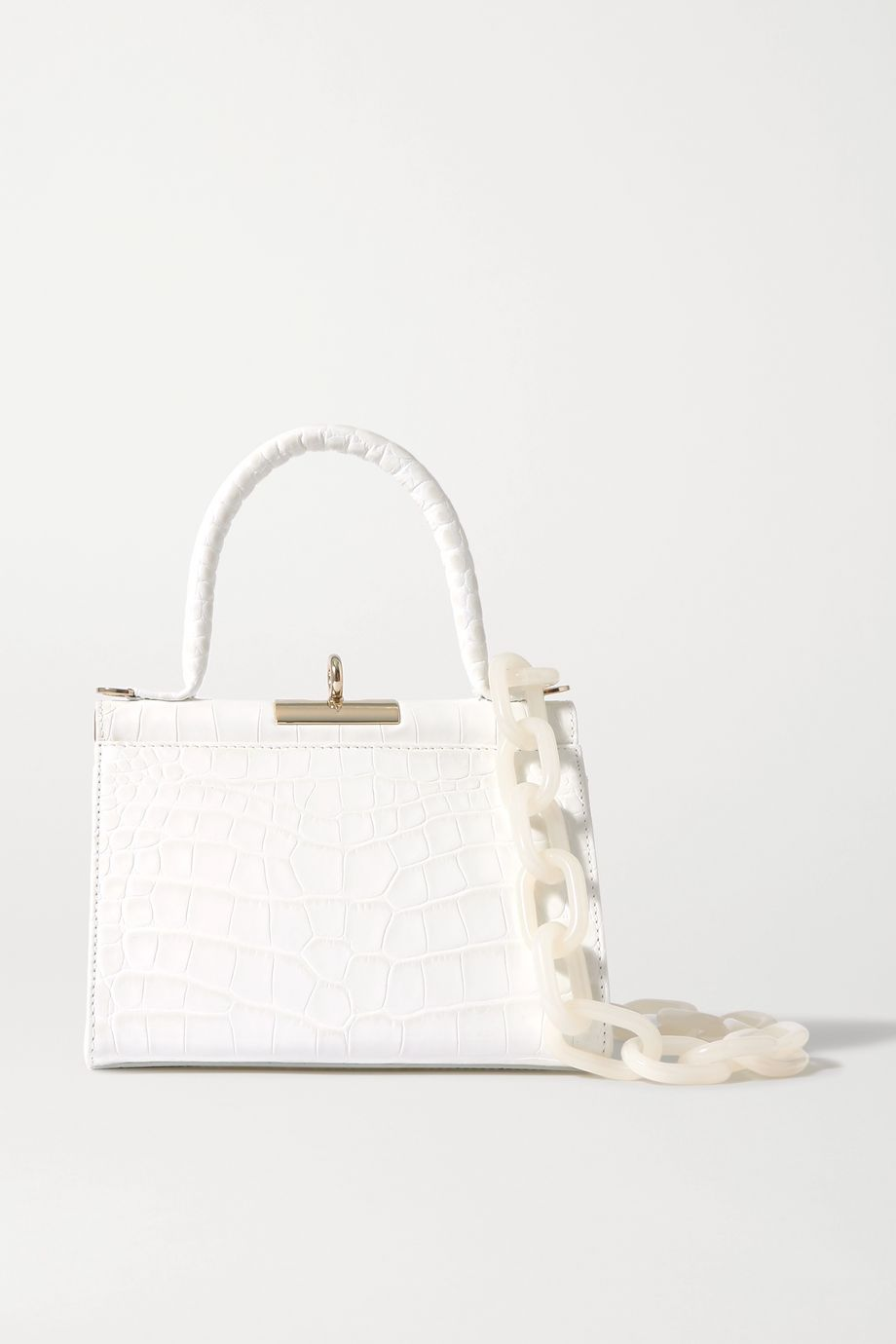 Gu_de Play croc-effect leather tote