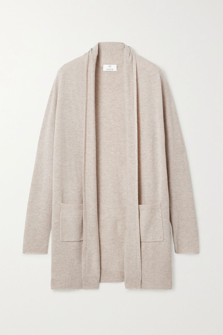 Allude Wool and cashmere-blend cardigan