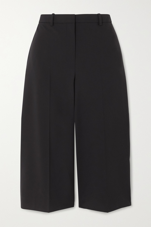 Theory Wool-blend shorts