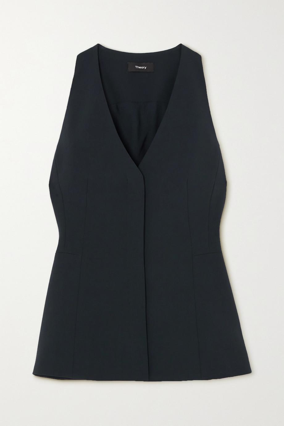 Theory Crepe vest