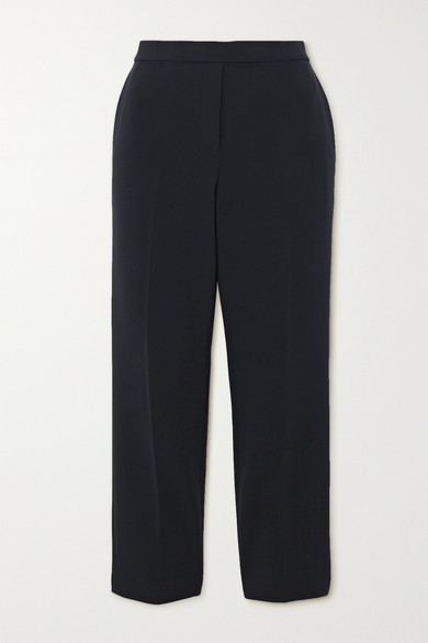 Theory CROPPED CREPE SLIM-FIT PANTS