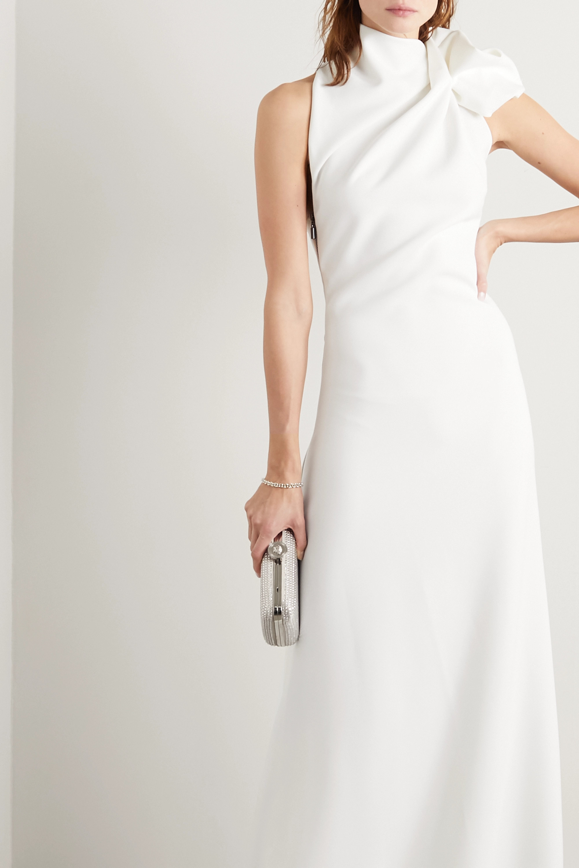 Maticevski Captivate gathered cady gown