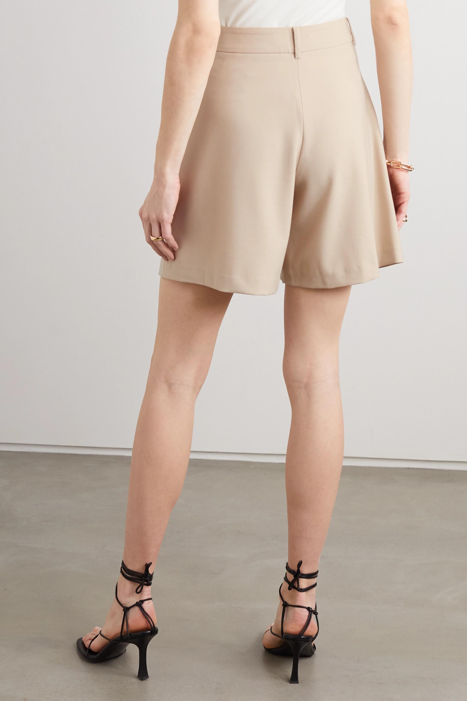 ANNA QUAN Oscar twill shorts