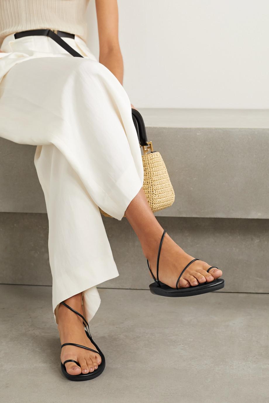 Ancient Greek Sandals Sandales en cuir synthétique Kansiz