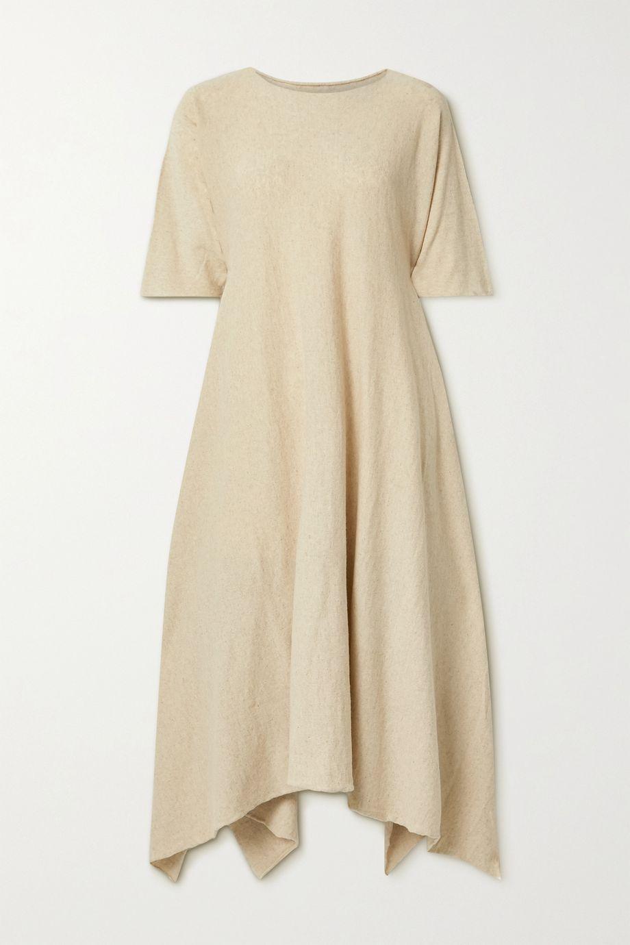 Lauren Manoogian Plane organic cotton and linen-blend maxi dress