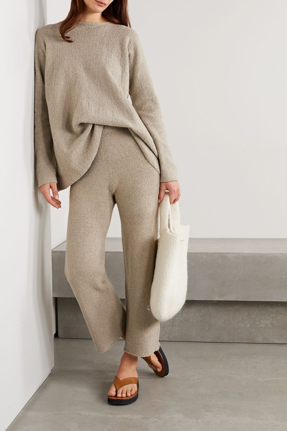 Lauren Manoogian Pima cotton-blend sweater
