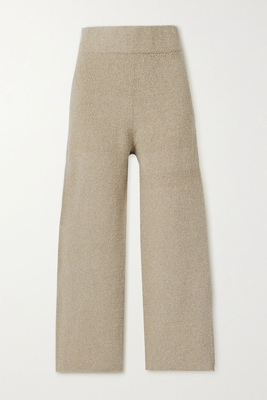 Lauren Manoogian Miter Pima cotton-blend wide-leg pants
