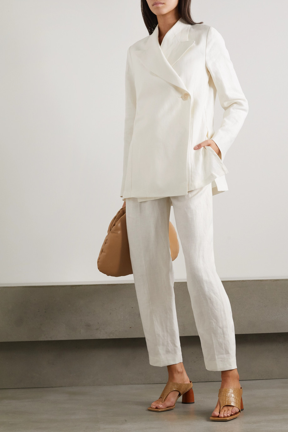 REMAIN Birger Christensen Vivi linen blazer