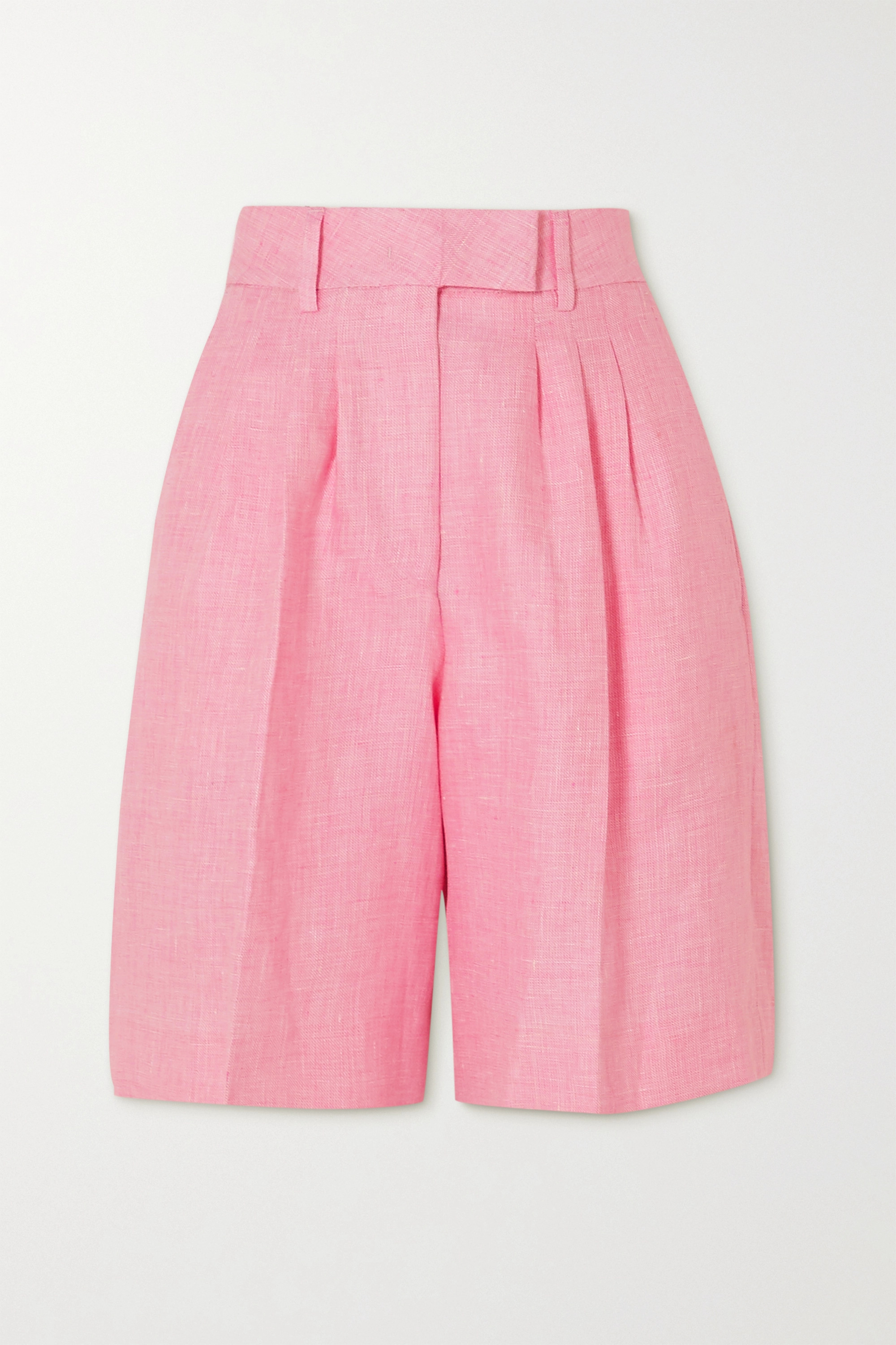 REMAIN Birger Christensen Kit linen shorts