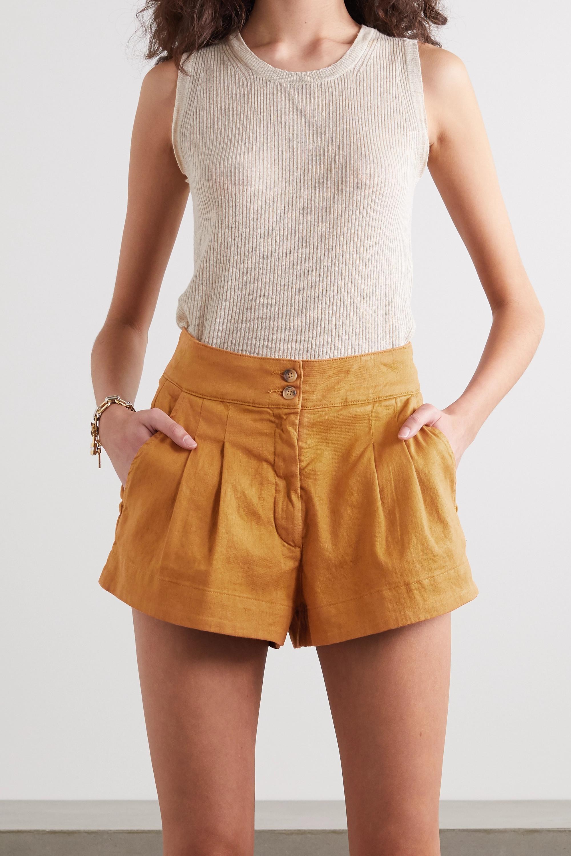Vanessa Bruno Nessa stretch-linen and cotton-blend shorts