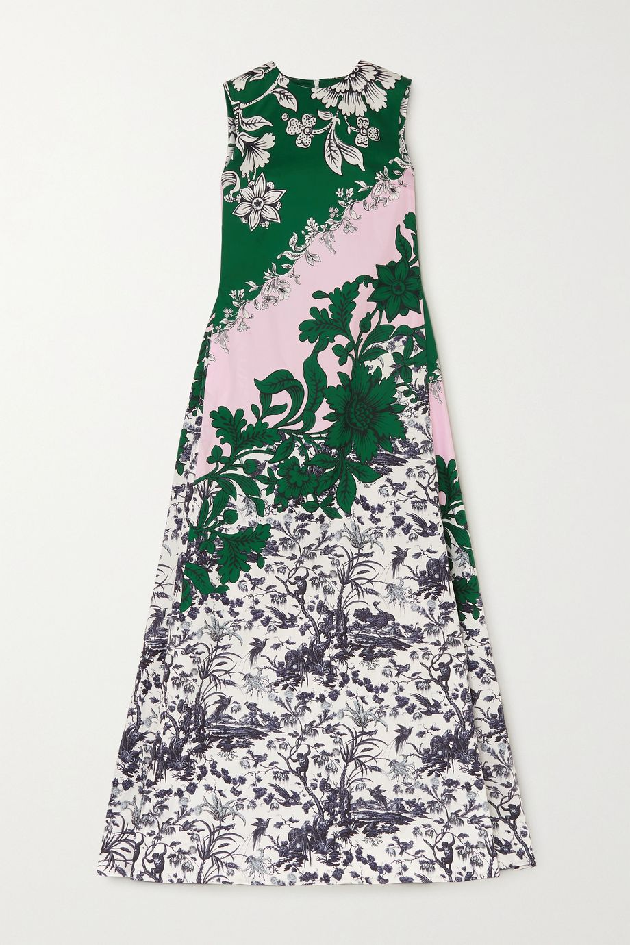 Erdem Odalys floral-print cotton-sateen gown