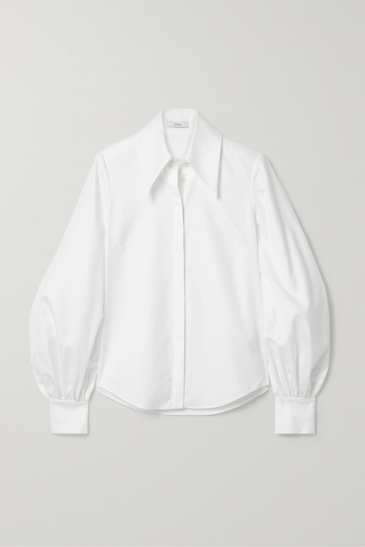 Erdem Eula cotton-piqué shirt