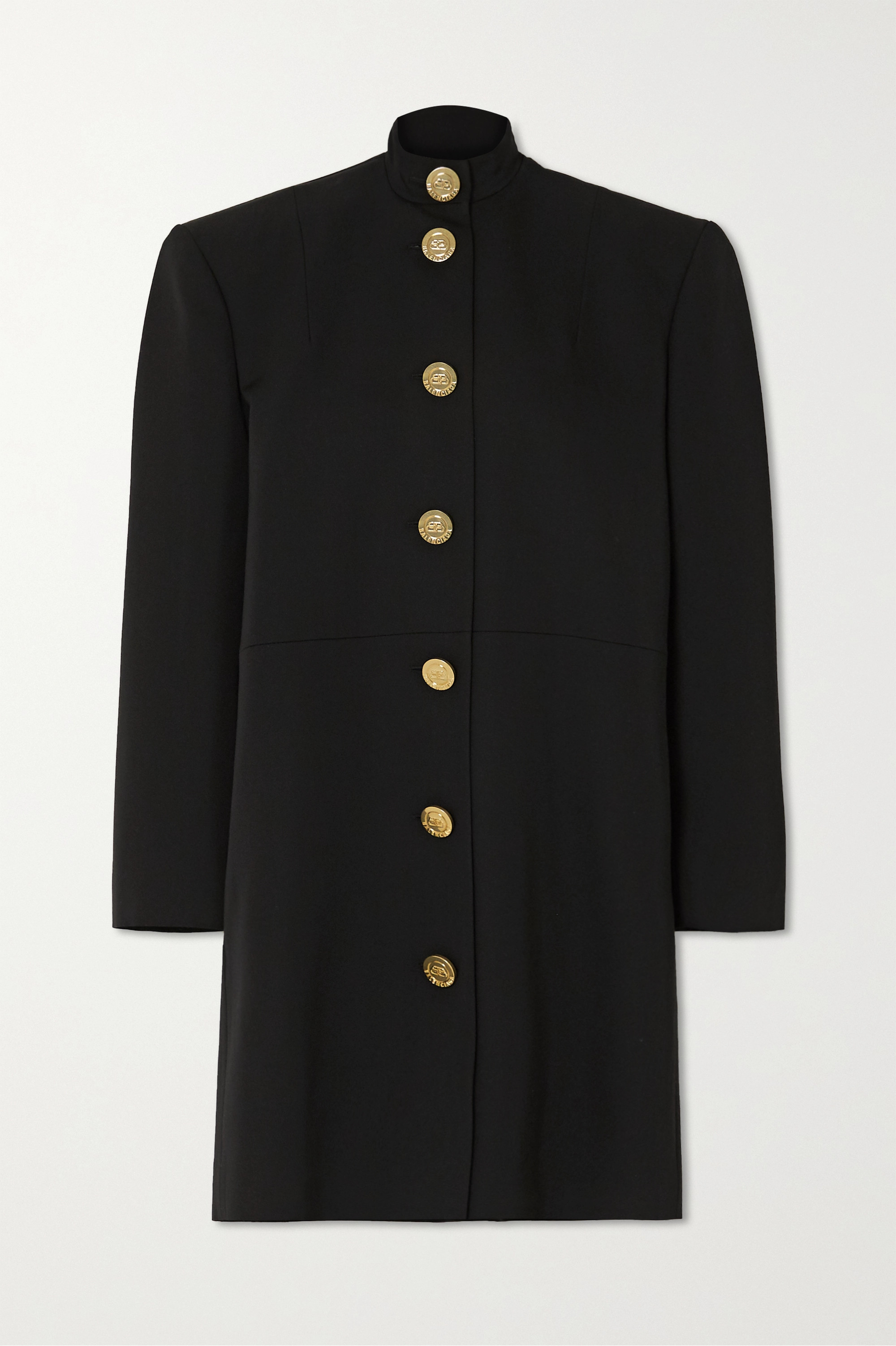 Balenciaga Oversized wool mini dress