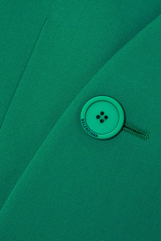 Balenciaga Doppelreihiger Blazer aus einer Wollmischung