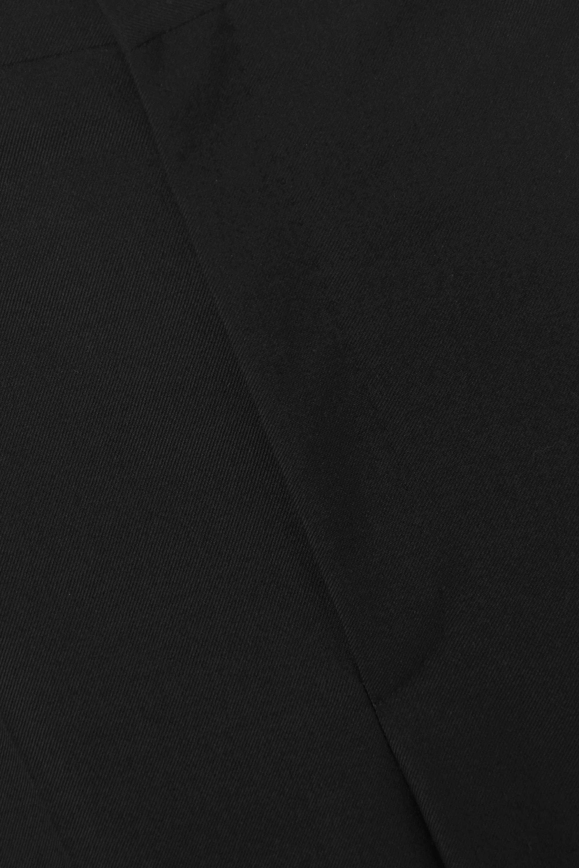 Balenciaga Hose mit geradem Bein aus Twill aus einer Wollmischung