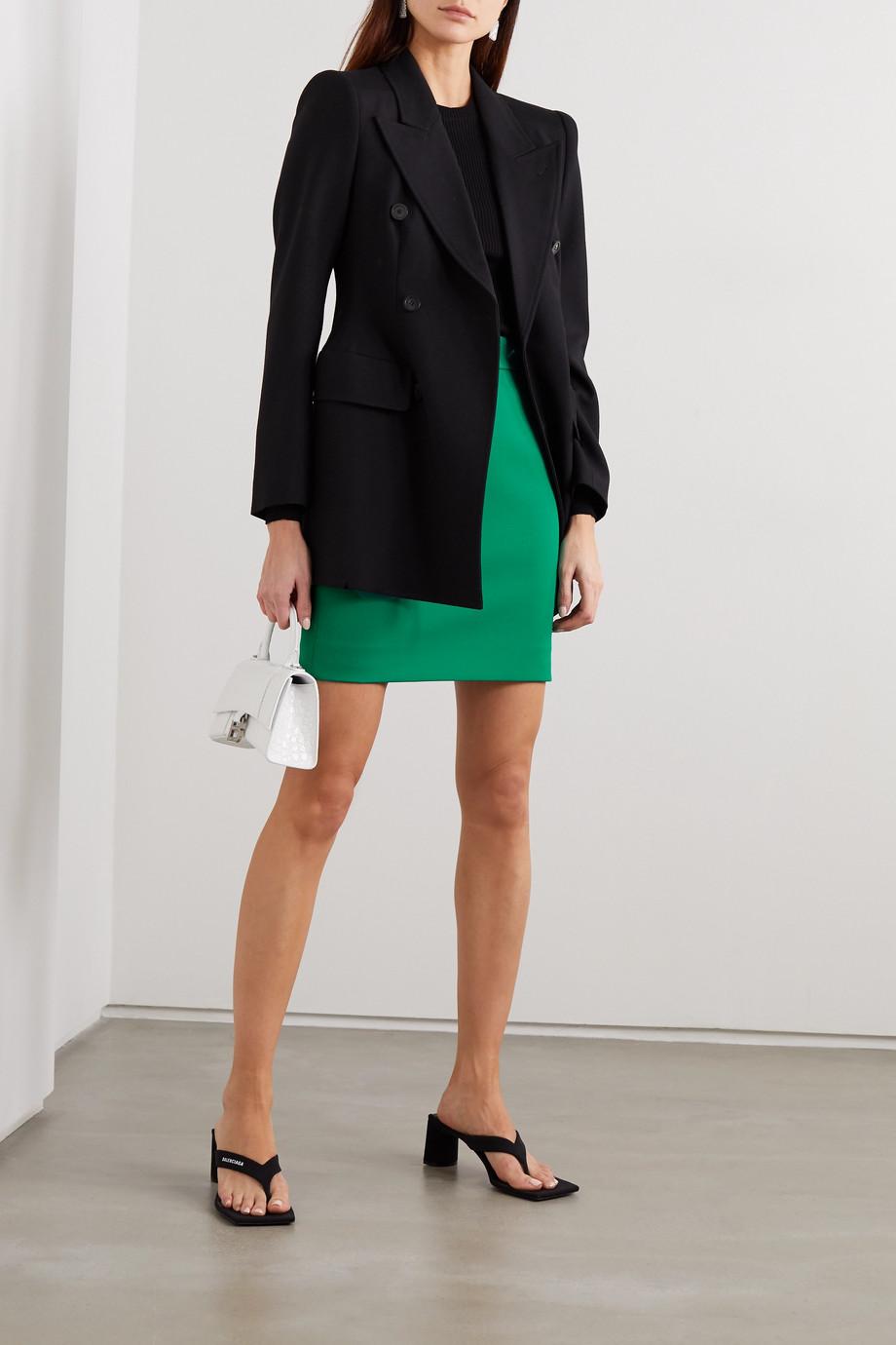 Balenciaga Wool-blend mini skirt