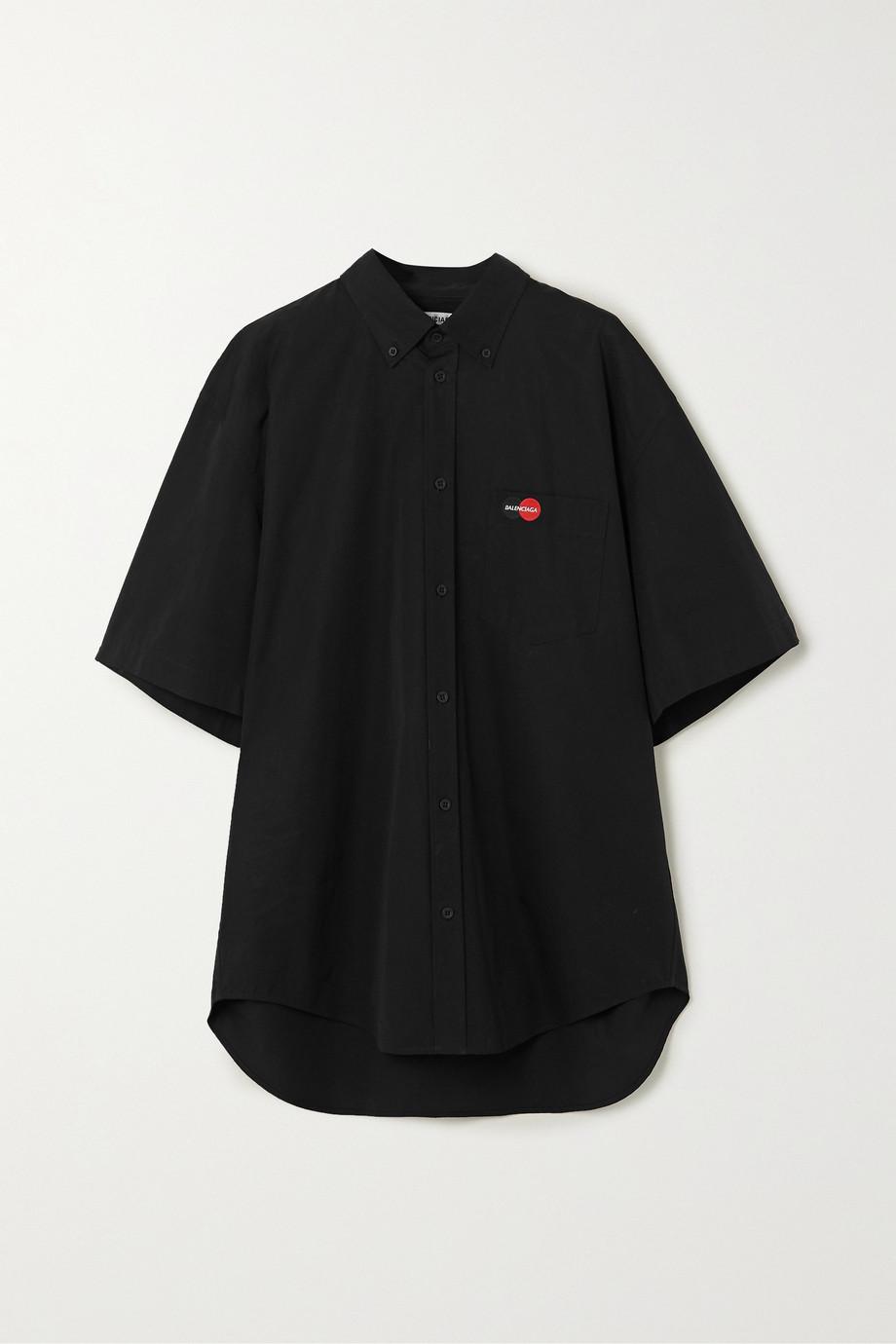 Balenciaga Chemise en coton à broderies