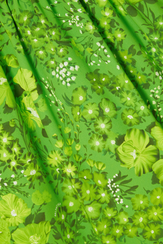 Balenciaga Bluse aus Crêpe mit Blumenprint