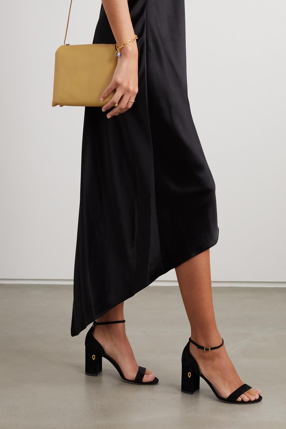 Jennifer Chamandi Massimo 85 绒面革凉鞋