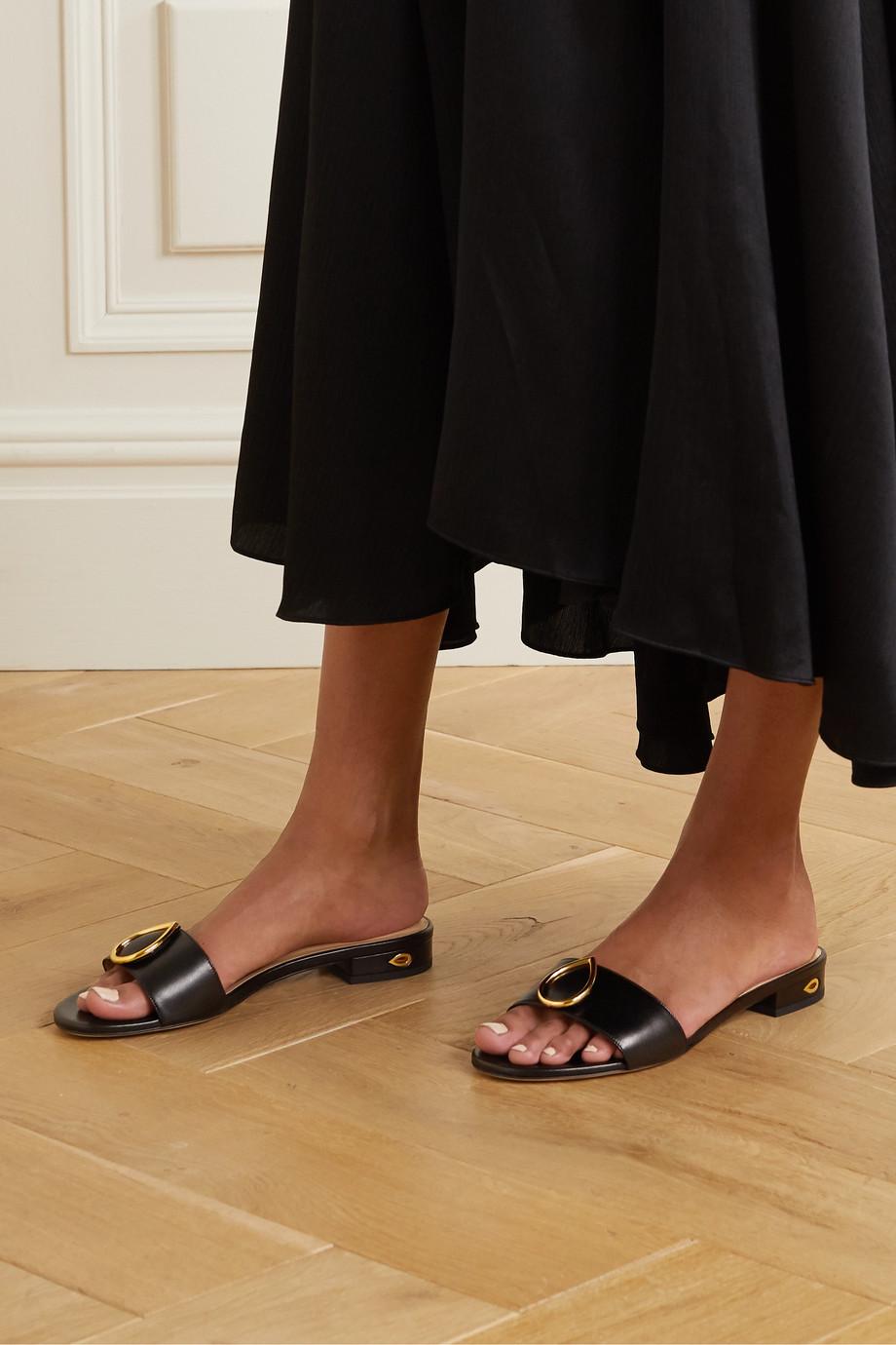 Jennifer Chamandi Andrea 20 embellished leather sandals