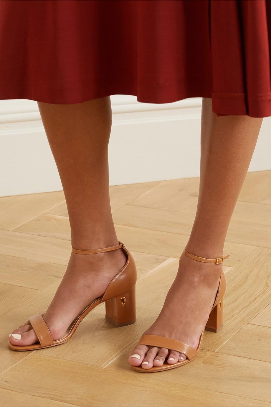 Jennifer Chamandi Massimo 65 embellished leather sandals