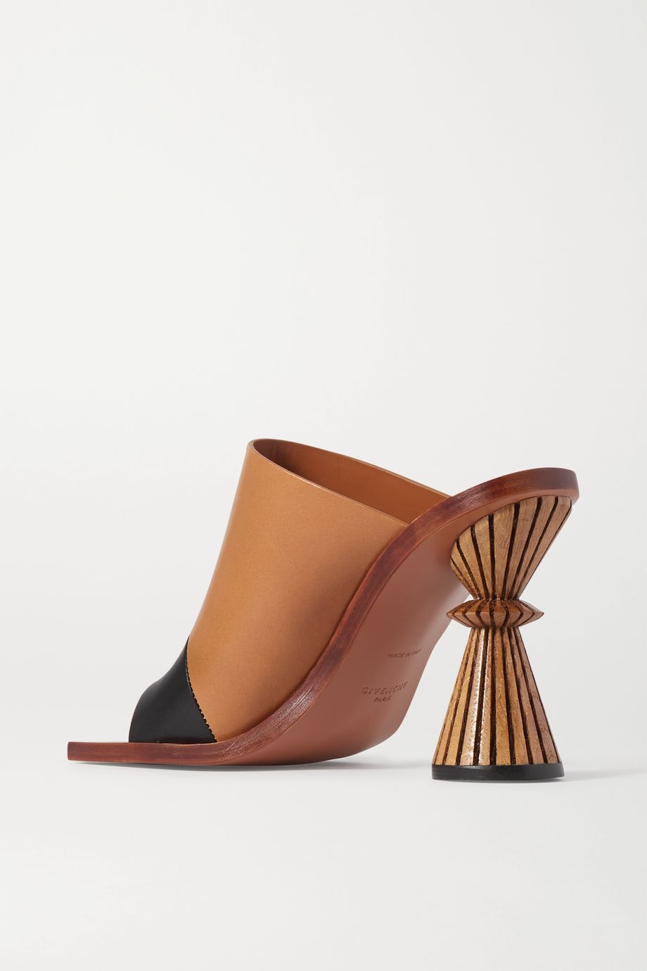 Givenchy Two-tone leather mules