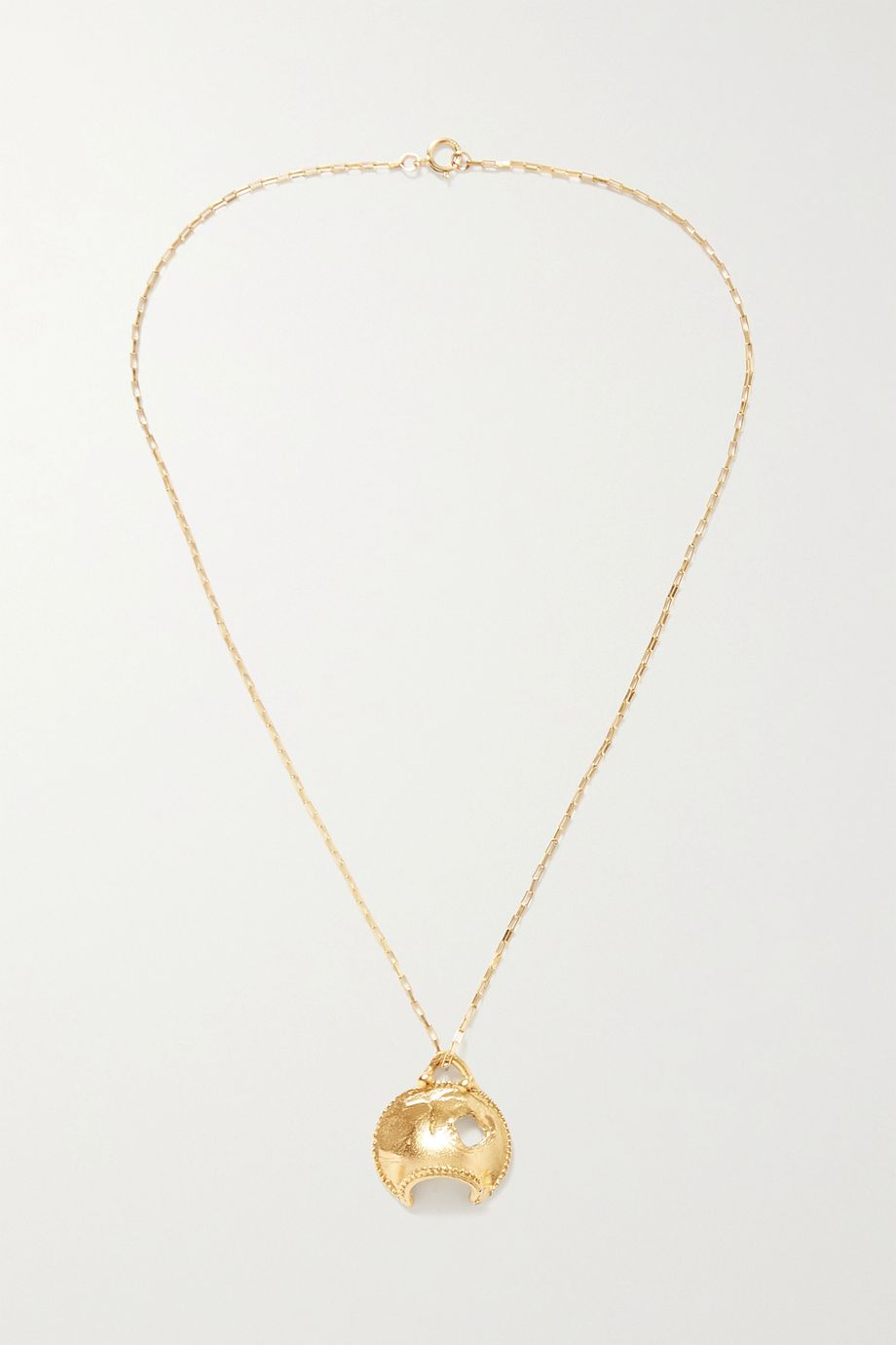 Alighieri La Forza gold-plated necklace