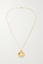 La Forza gold-plated necklace