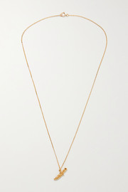 The Captured Protection gold-plated necklace