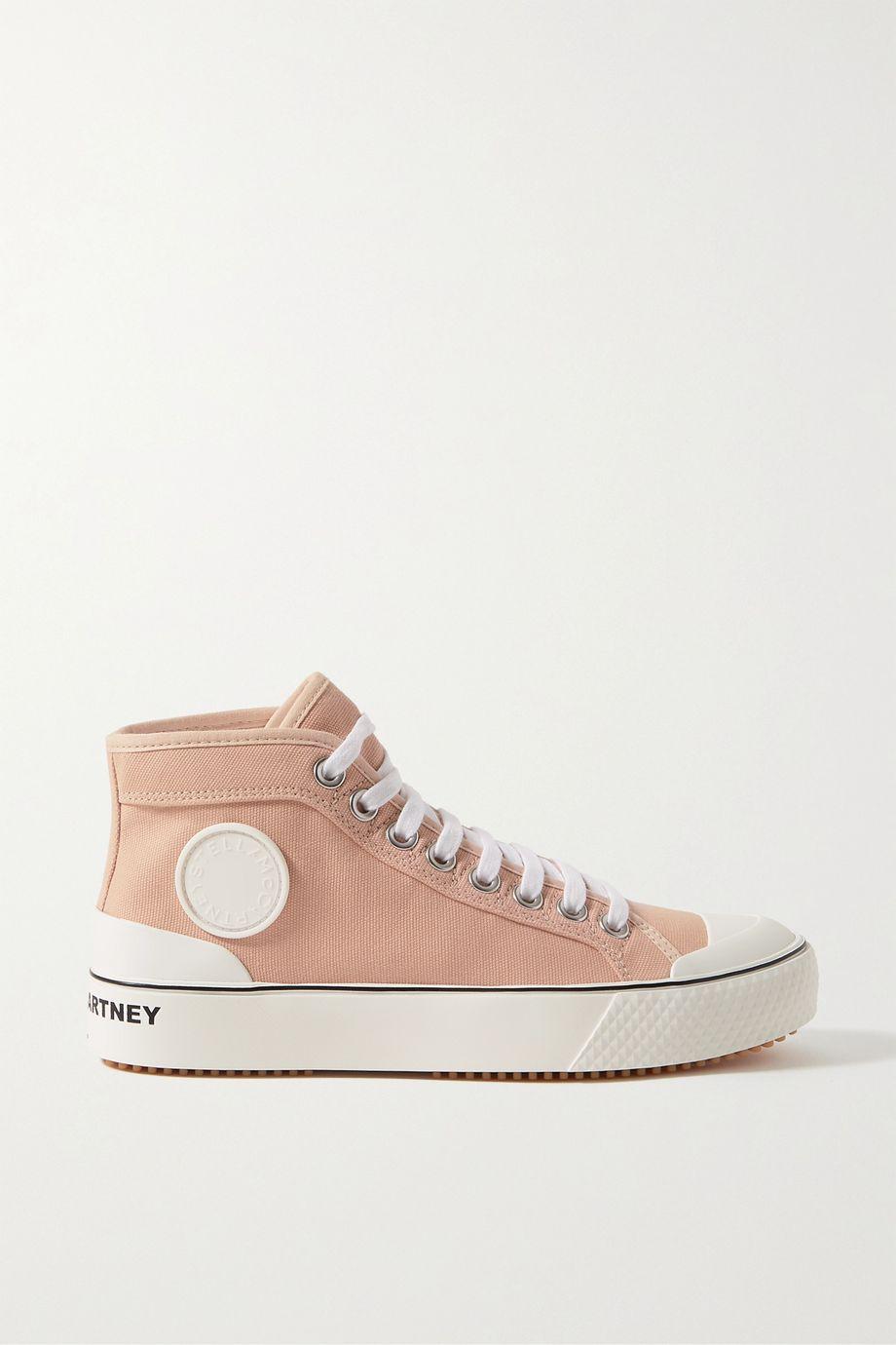 Stella McCartney Canvas high-top sneakers