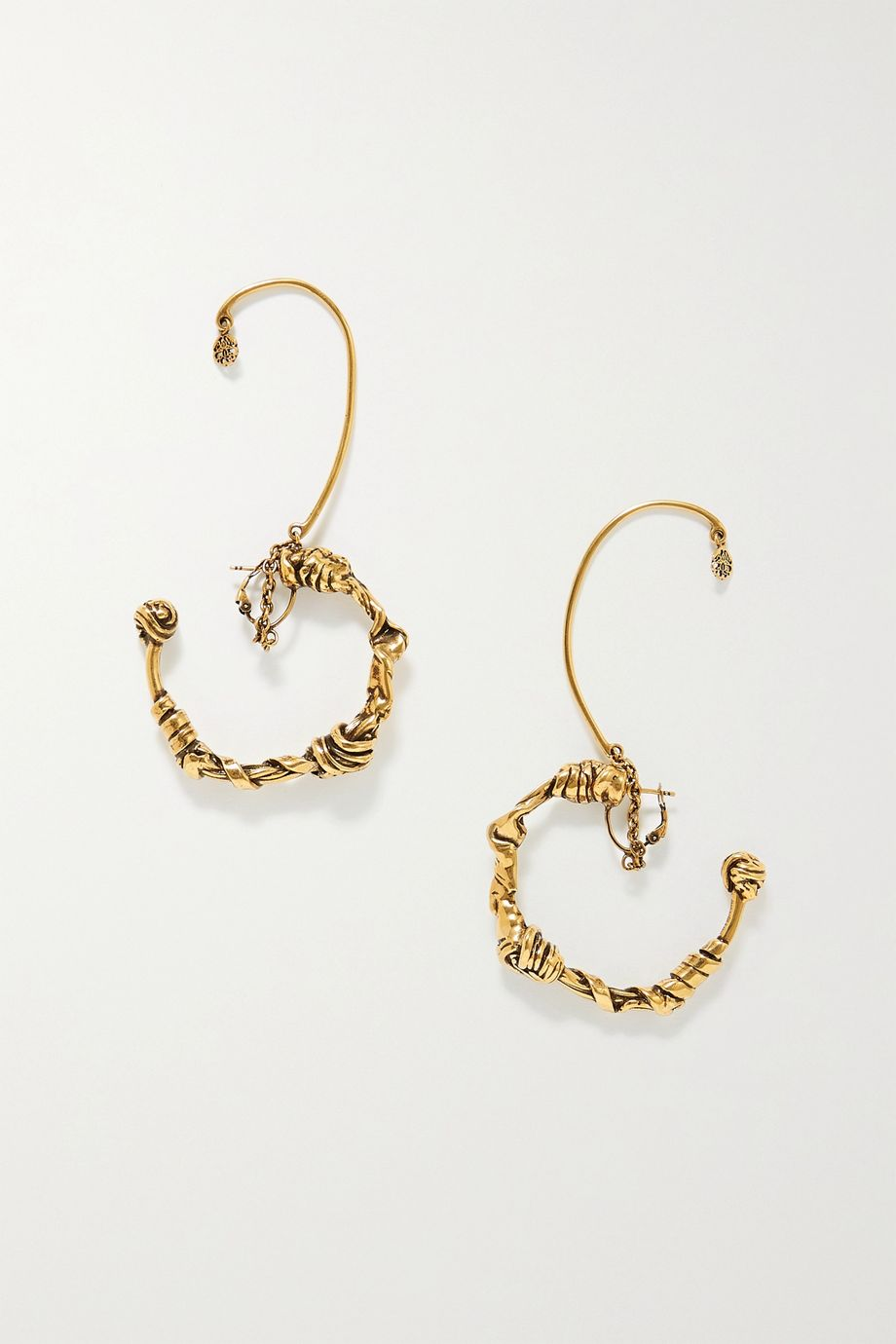 Alexander McQueen Gold-tone earrings