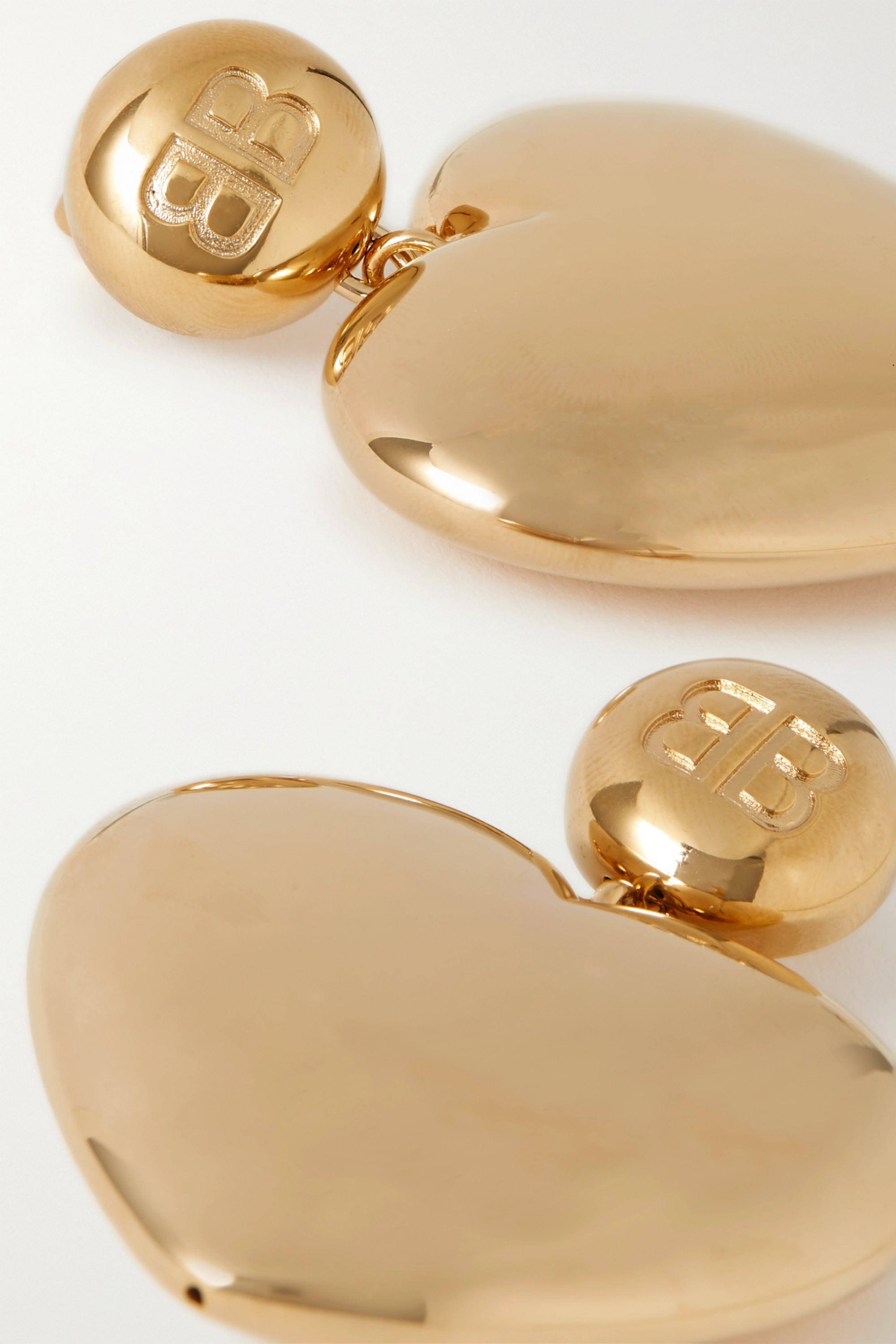 Balenciaga Susi gold-tone earrings