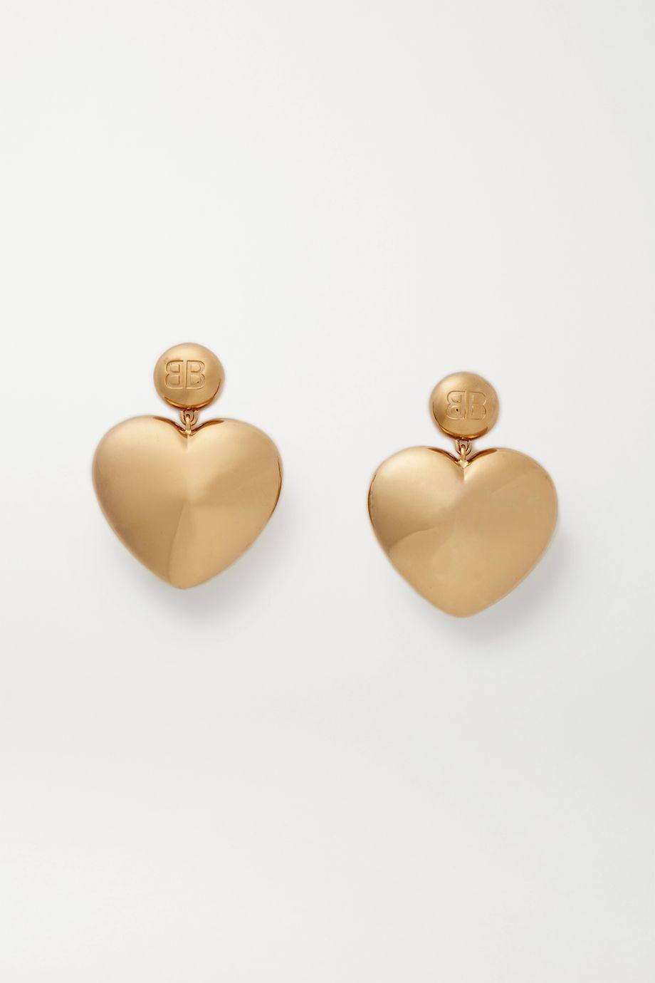 Balenciaga Susi gold-tone earrings