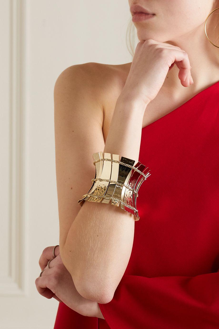 Valentino Valentino Garavani gold-tone bracelet
