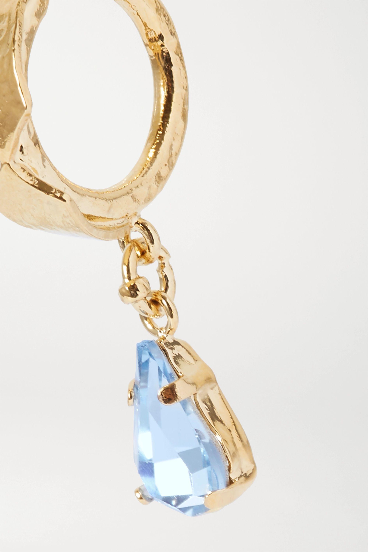 Valentino Valentino Garavani gold-tone crystal earring