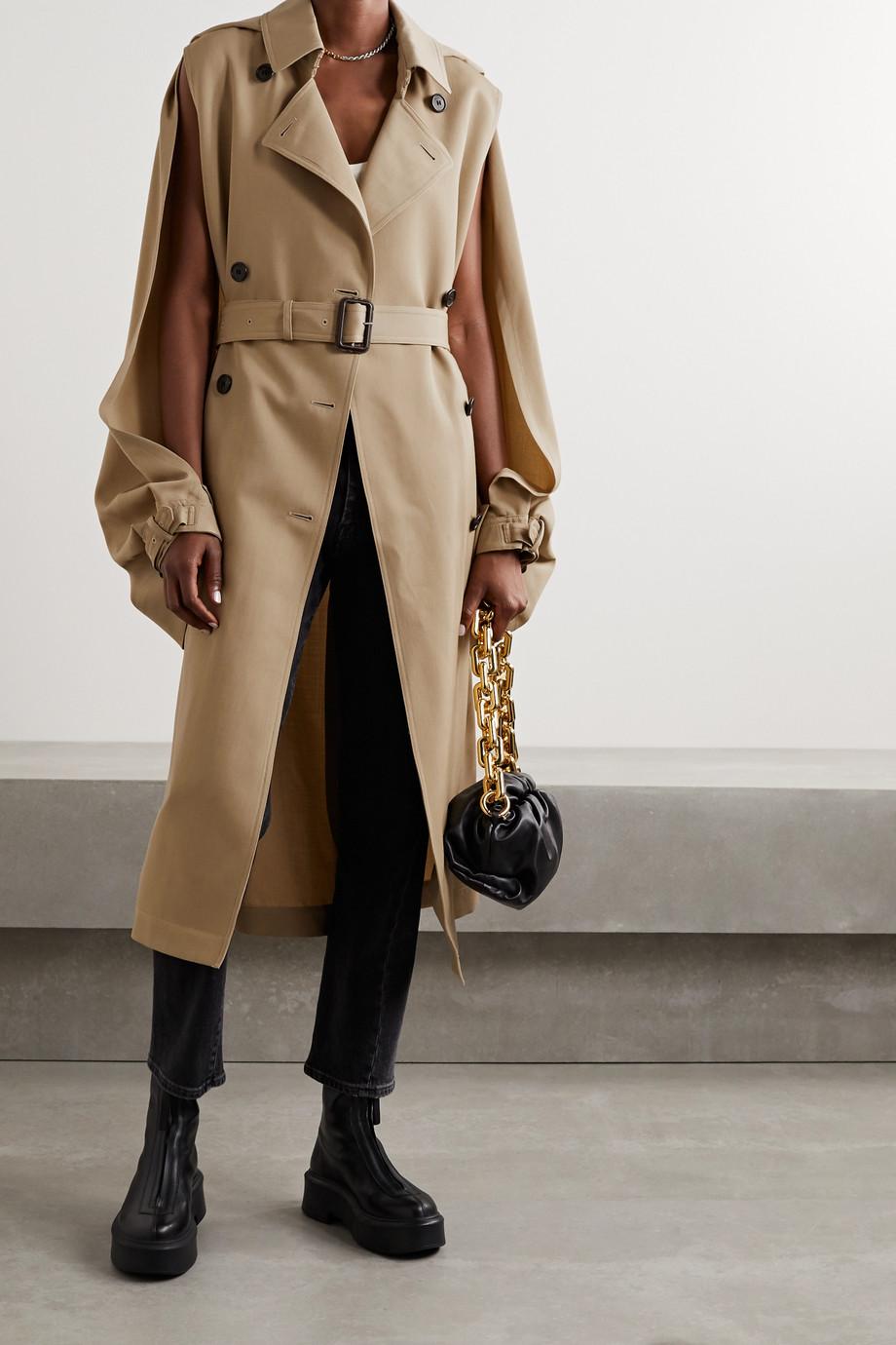 JW Anderson Cape-effect wool-gabardine trench coat
