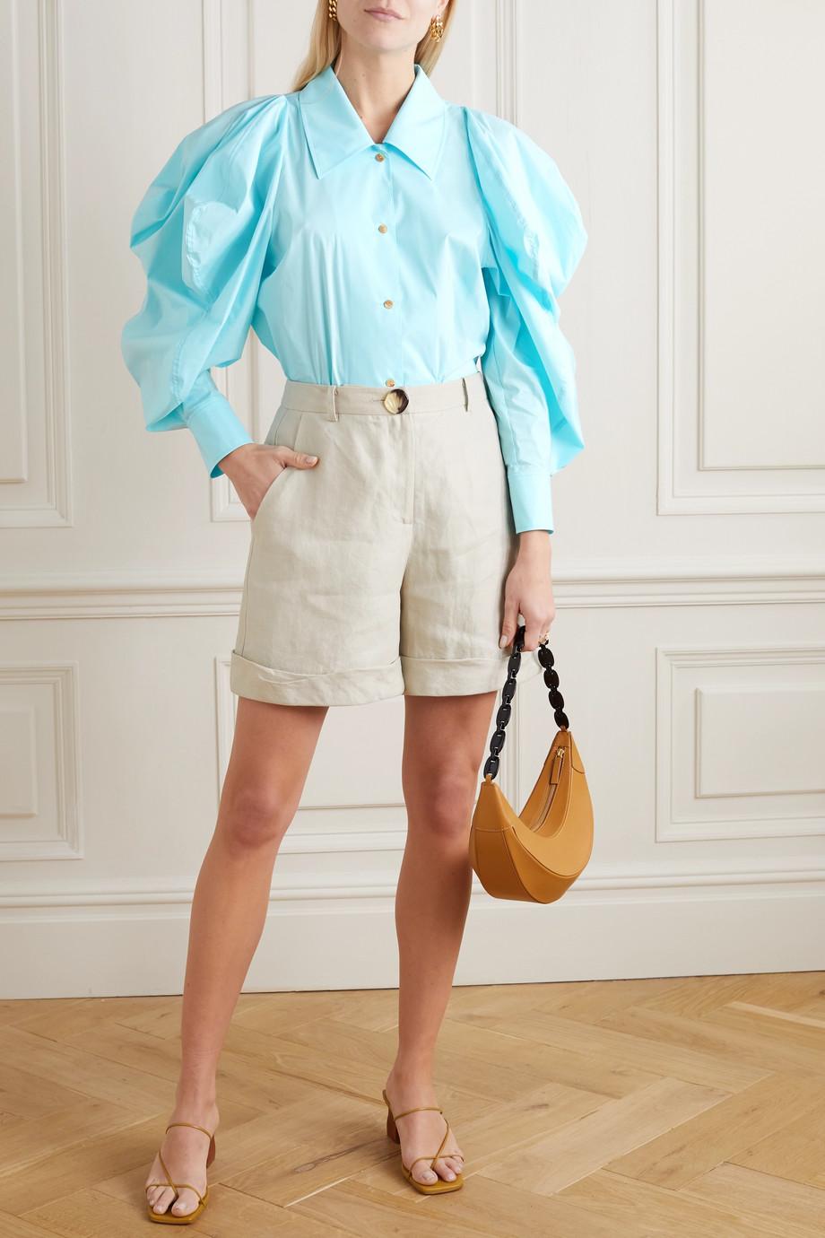 REJINA PYO Julia Oversized-Hemd aus Popeline aus einer Baumwollmischung