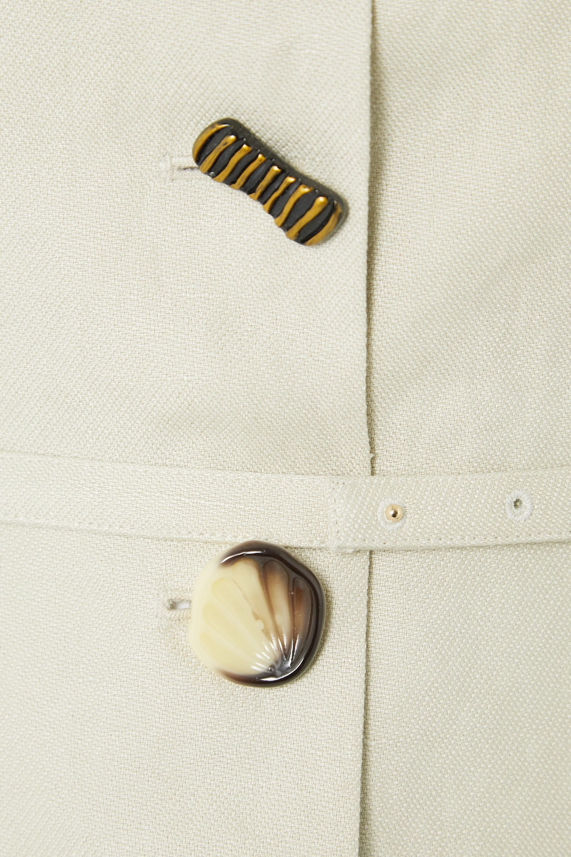 REJINA PYO Martina belted linen jacket
