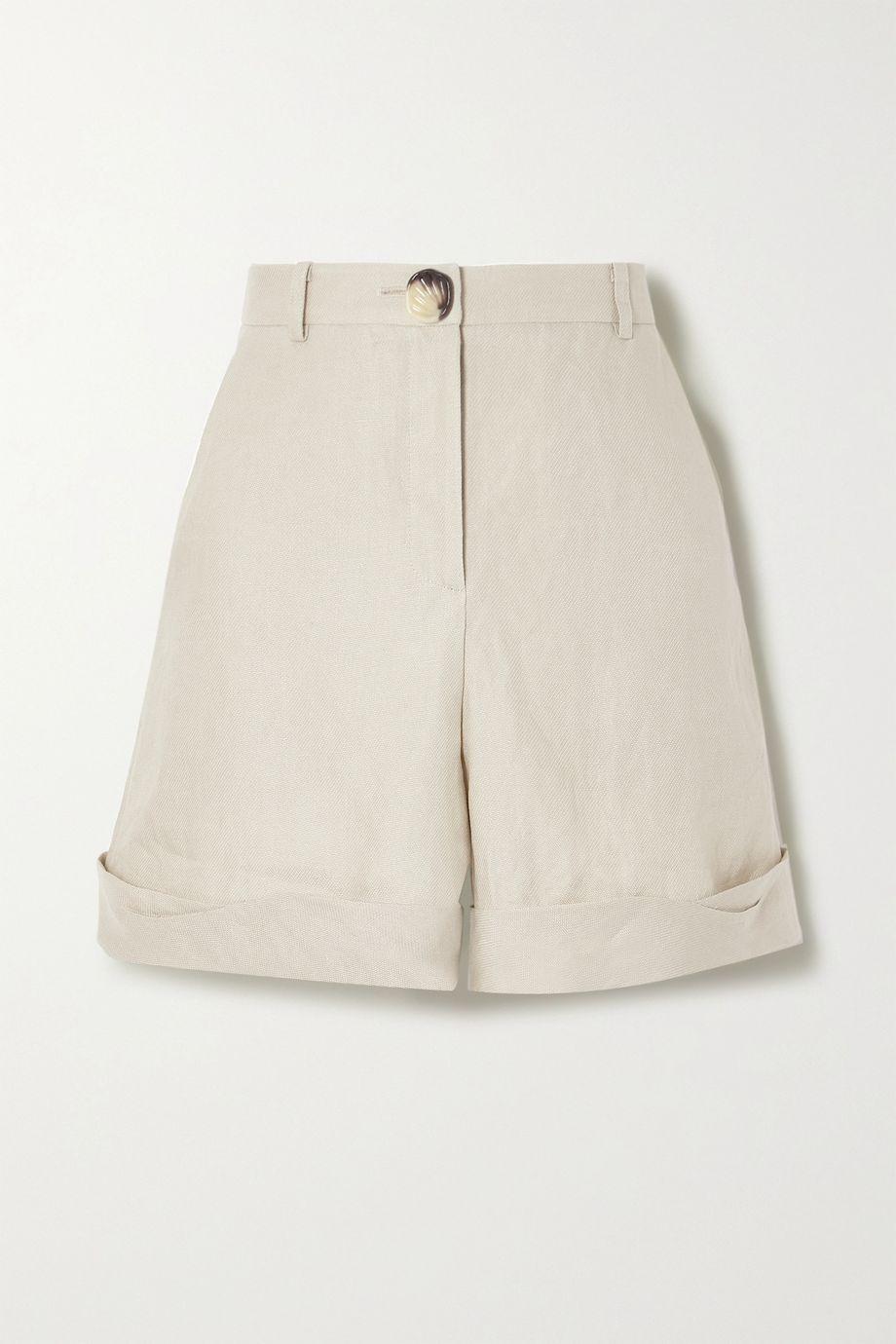 REJINA PYO Oscar linen shorts