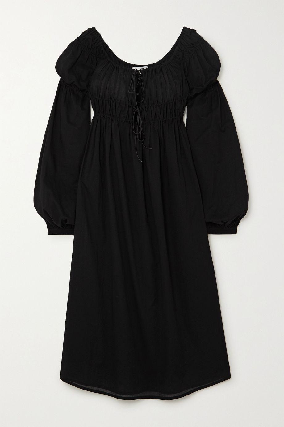 Àcheval Pampa Antonia gathered cotton-voile midi dress