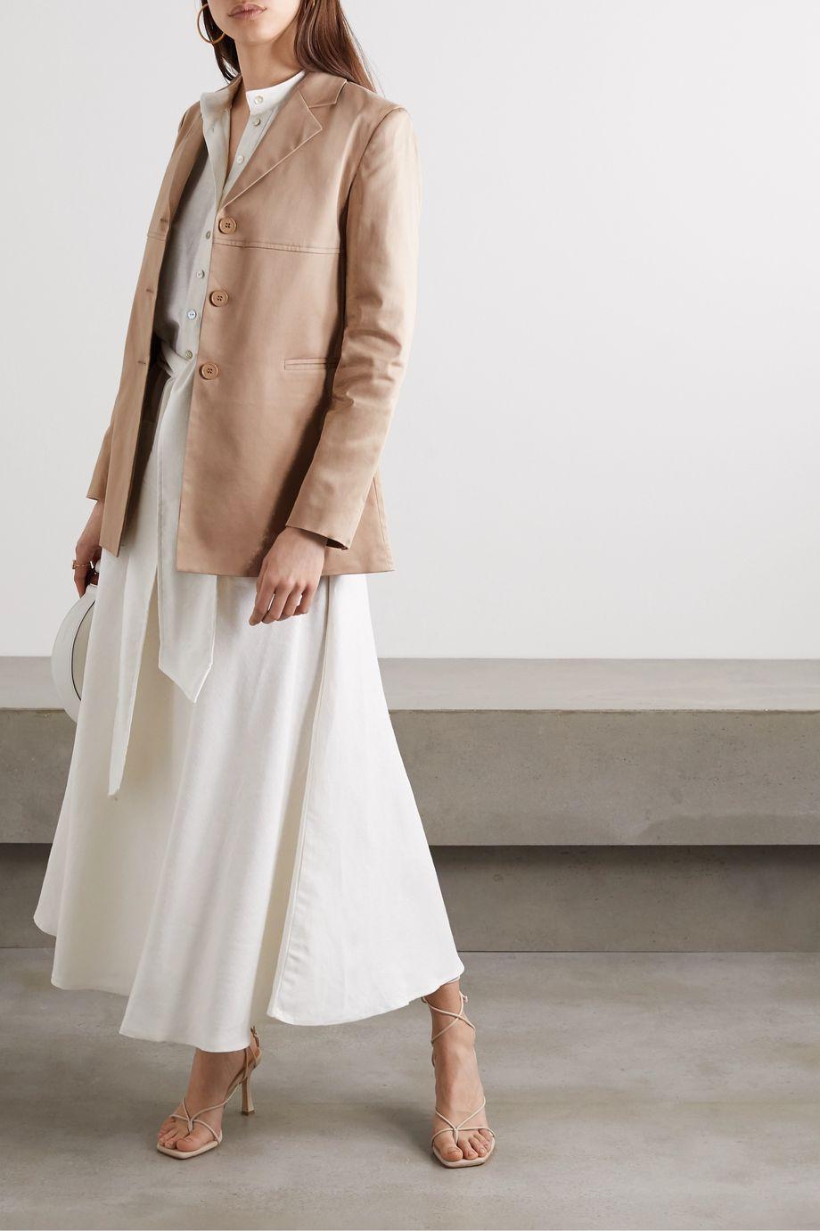 Àcheval Pampa Borges stretch-cotton satin jacket
